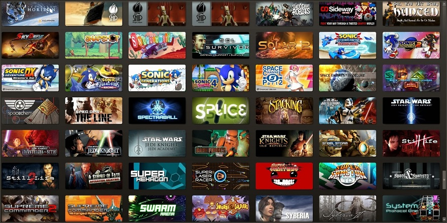 Huge-Steam-Game-Collection